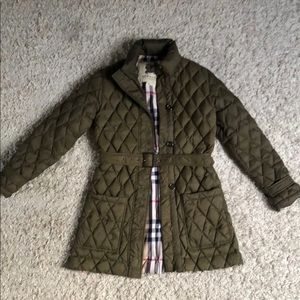 Burberry Prorsum Puffer - Olive colored